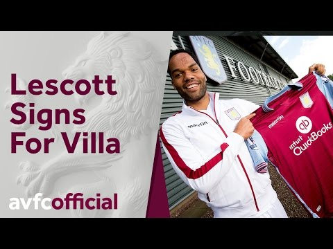 Joleon Lescott signs for Aston Villa