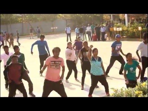 VIT Chennai - Flashmob 2k16