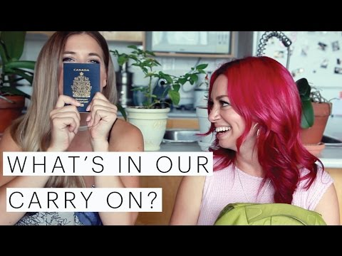 Vegan Travel Tips | What's in your Carry On Bag? | Collab with Hopscotch the Globe | The Edgy Veg