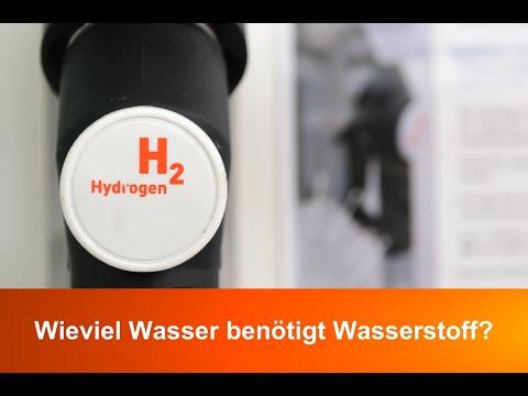 Wieviel Wasser Benötigt Eigentlich Wasserstoff?