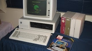 The original IBM PC (IBM 5150). As seen in Tezza
