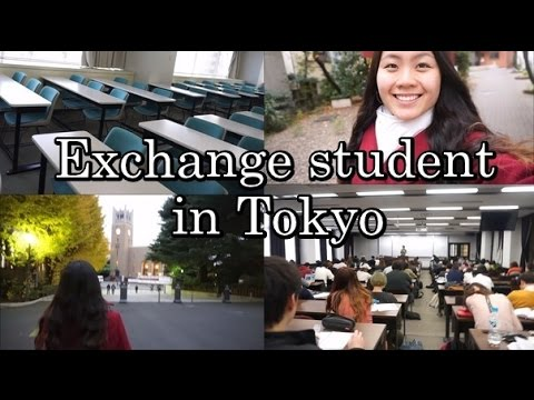 EXCHANGE STUDENT IN JAPAN - Student Life in Tokyo (Vlog #22)