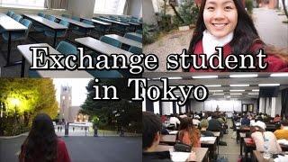 EXCHANGE STUDENT IN JAPAN - Student Life in Tokyo (Vlog #22)