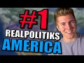 Realpolitiks: USA 2020 Gameplay [Let's Play Realpolitiks as America] | Grand Strategy Game | Part 1