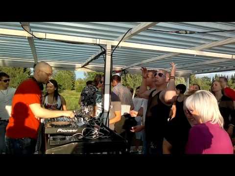 Tom Fall @ Push Up pres. Party Boat 21.7.2012 Part 3, Hämeenlinna, Finland [D]