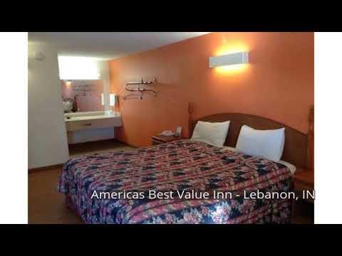 Americas Best Value Inn - Lebanon, IN