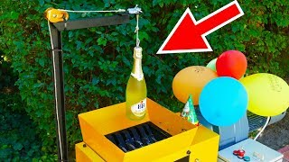 SHREDDING CHAMPAGNE! 1 MILLION SUBSCRIBERS SPECIAL | GOJZER