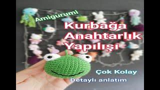 AMİGURUMİ ANAHTARLIK YAPIMI \PART 1   Amigurumi   180x320
