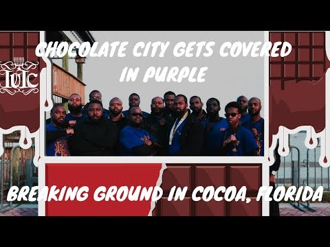 IUIC: Chocolate City Gets Covered In Purple Breaking Ground In Cocoa, Florida