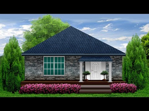 Spring Brick Cottage Country Tiny Home
