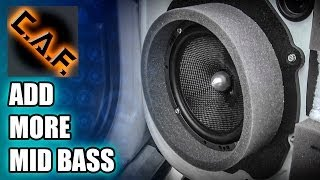 How To Add Mid Bass - Build Custom Speaker Adapters Caraudiofabrication
