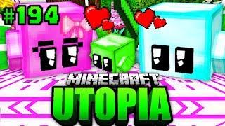 Die 2. HOCHZEIT + BABY BLOCKY?! - Minecraft Utopia #194 [Deutsch/HD]