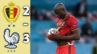 Бельгия 2 3 Франция Обзор матча Полуфинал Лиги Наций