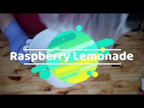 Raspberry Lemonade Salt Soap