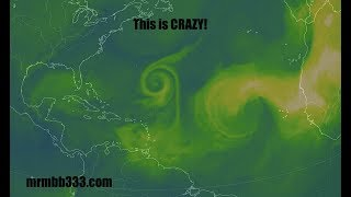 EPIC Event! - Newly forming hurricane doing something extraordinary - Oh my...