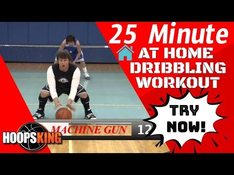 Best 25 Minute Basketball Dribbling Workout For Intermediate Players At Home