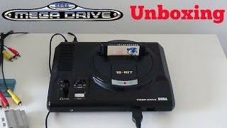 Sega Mega Drive + Sonic the Hedgehog Unboxing!