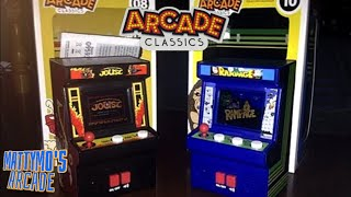 Joust and Rampage Mini Arcade Games Review