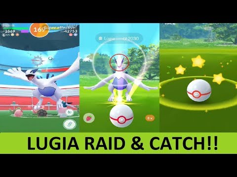 how to catch lugia tips
