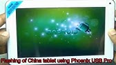 Unlock China Tablet by Hard Reset Tool / Software - YouTube