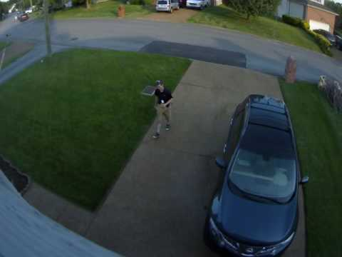 Camera 1   Driveway 2016 05 24 183936   Tennessean Solicitor Coming to my door