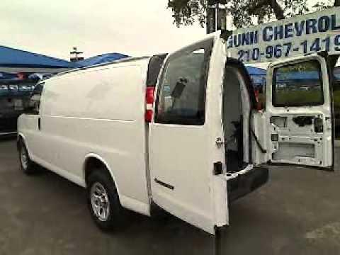2010 Chevrolet Express Cargo Van Full Size San A