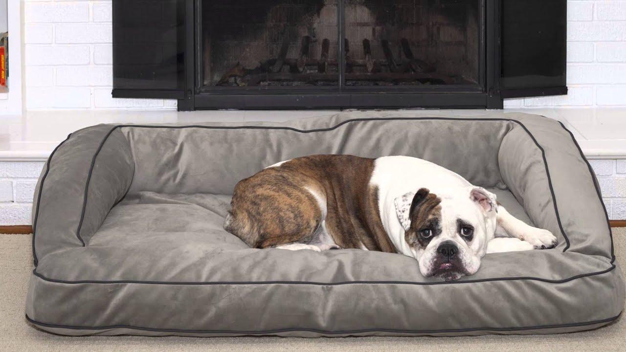 Luxury Dog Bed Slumber Sofa From Dublin Dog   YouTube