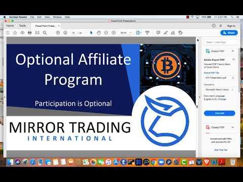 Daily mirror bitcoin trading