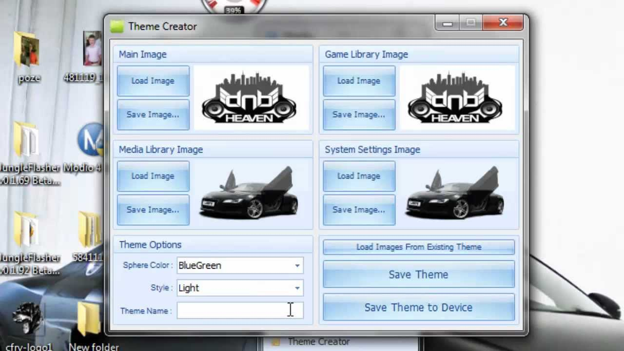 free xbox 360 premium theme creator tutorial modio youtube