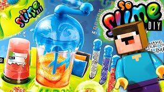 ЛИЗУН vs СЛАЙМ DIY и Лего НУБик Майнкрафт ФНАФ Мультики - LEGO Minecraft FNAF Мультфильмы
