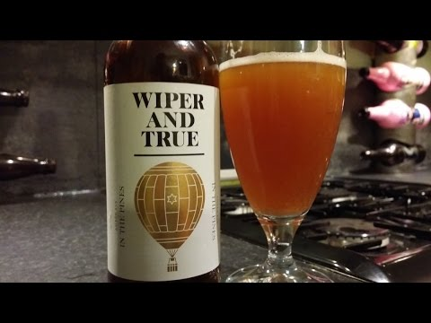 Wiper And True In The Pines Amber Ale | Craft Beer Review