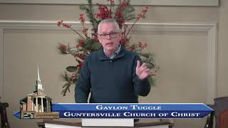 Guntersville Church of Christ February 2, 2020