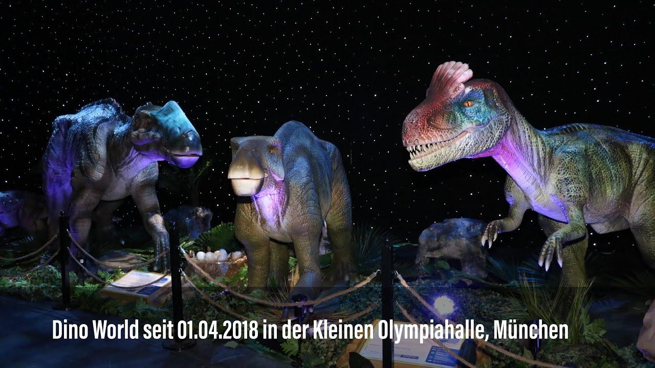 Dino World seit 01.04.2018 in der Kleinen Olympiahalle, München