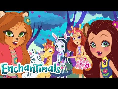 Enchantimals Россия 💜Сказки из Эвервильде: Время тутцифрута! 💜Мультфильмы для детей