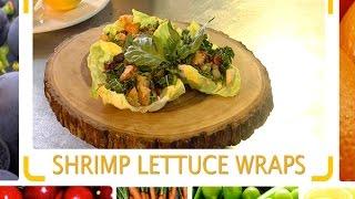 Flip Tip: Shrimp Lettuce Wraps