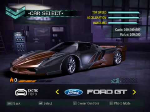 Nfs Carbon Mod The Car
