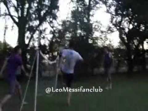 Messi de entrecasa en Rosario