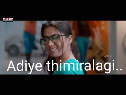 Adiye Thimiralagi Song Rashmika Mandanna Version  Tamil Whatsapp Status With Lyrics In Paulraj Milky