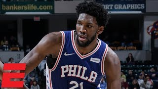 Joel Embiid, 76ers top Pacers for first road win of season | NBA Highlights