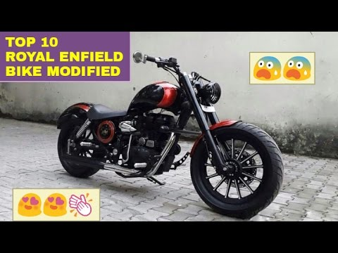 Top 10: BEST Modified Royal Enfield Bikes ! ! !