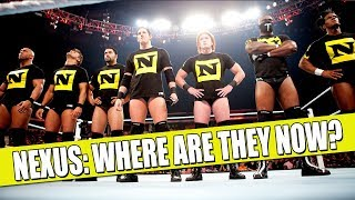 WWE Nexus Members: WHERE ARE THEY NOW? (2018)