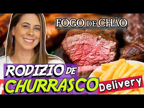 Rodízio de Churrasco em casa?🤔 Fogo de Chão Delivery