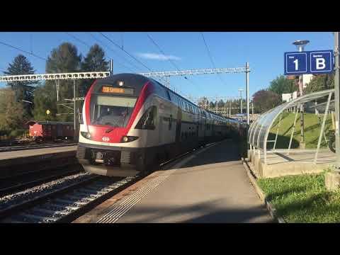 Giruno, ETR610 à Palézieux et Lausanne - 24-27 septembre 2017 - Transports Publics Suisses