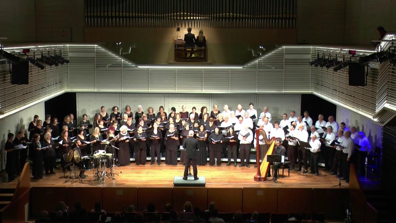 Chichester Psalms Leonard Bernstein Hakibutz Ha'artzi Choir Gitit Choir Haifa Cond. Yuval Benozer