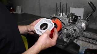 Montage d´un cylindre 80cc Airsal sur Derbi Euro 3