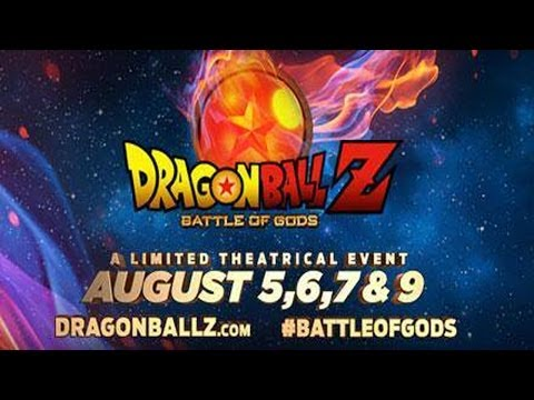 DRAGON BALL Z: BATTLE OF GODS COMING TO U.S. THEATERS!!!!