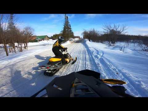 Snowmobile Tug Hill | Montague To Flat Rock | 2018