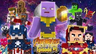 Minecraft Adventure - THE AVENGERS INFINITY WAR!!!