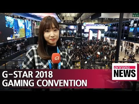 G-Star 2018 showcases future of gaming industry