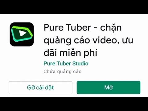 review app Pure Tuber nghe nhạc không quảng cáo   TỈNH CA VLOG